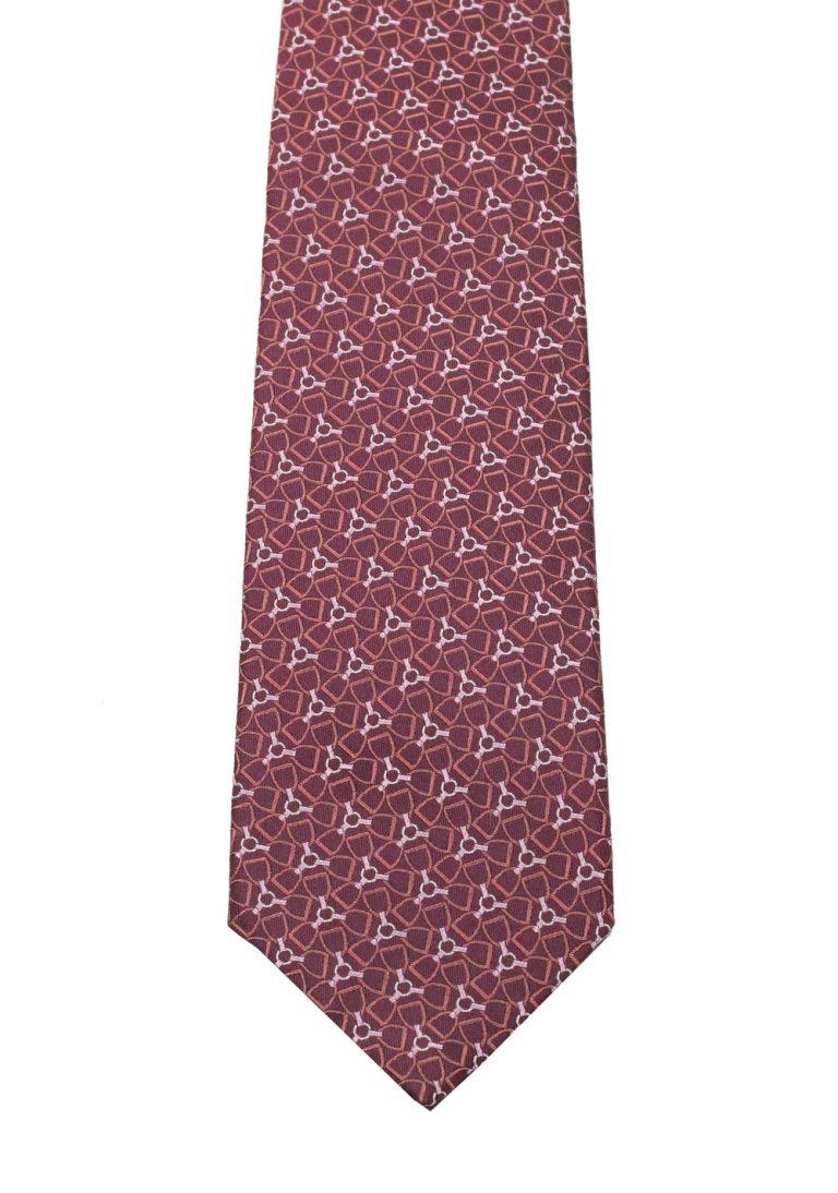 Gucci Purple Patterned Tie - thumbnail | Costume Limité