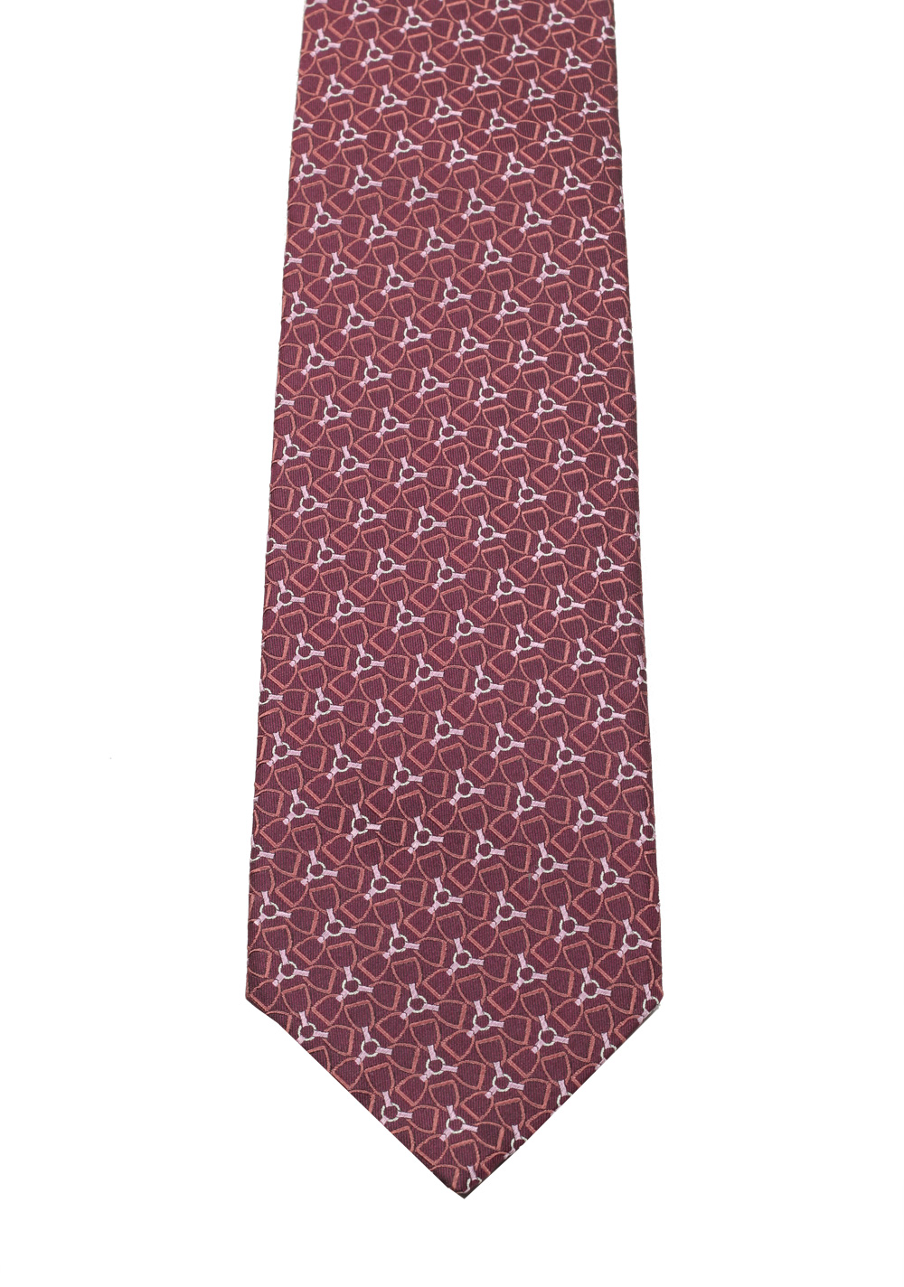 Gucci Purple Patterned Tie | Costume Limité