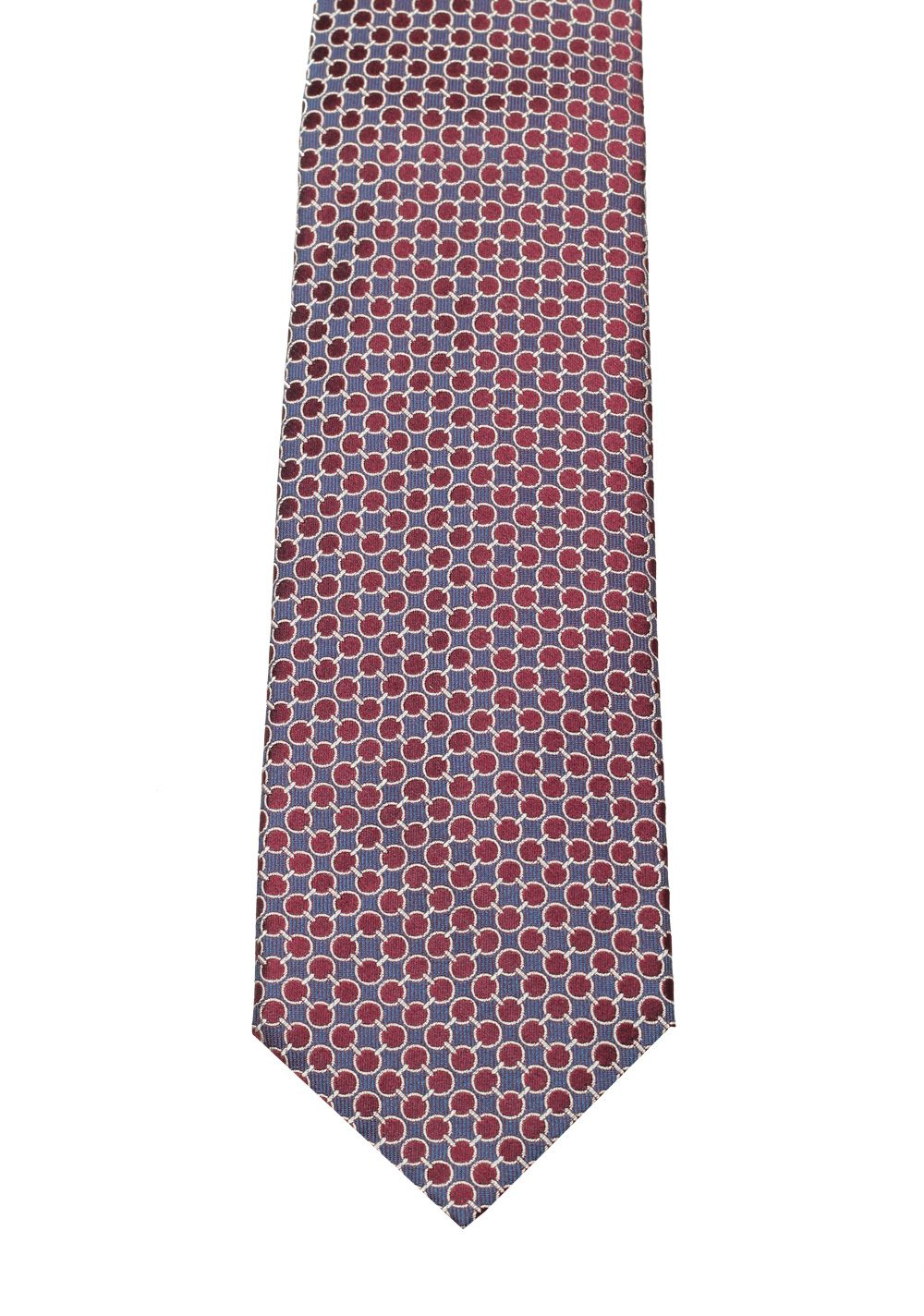 Gucci Blue / Purple Patterned Tie | Costume Limité