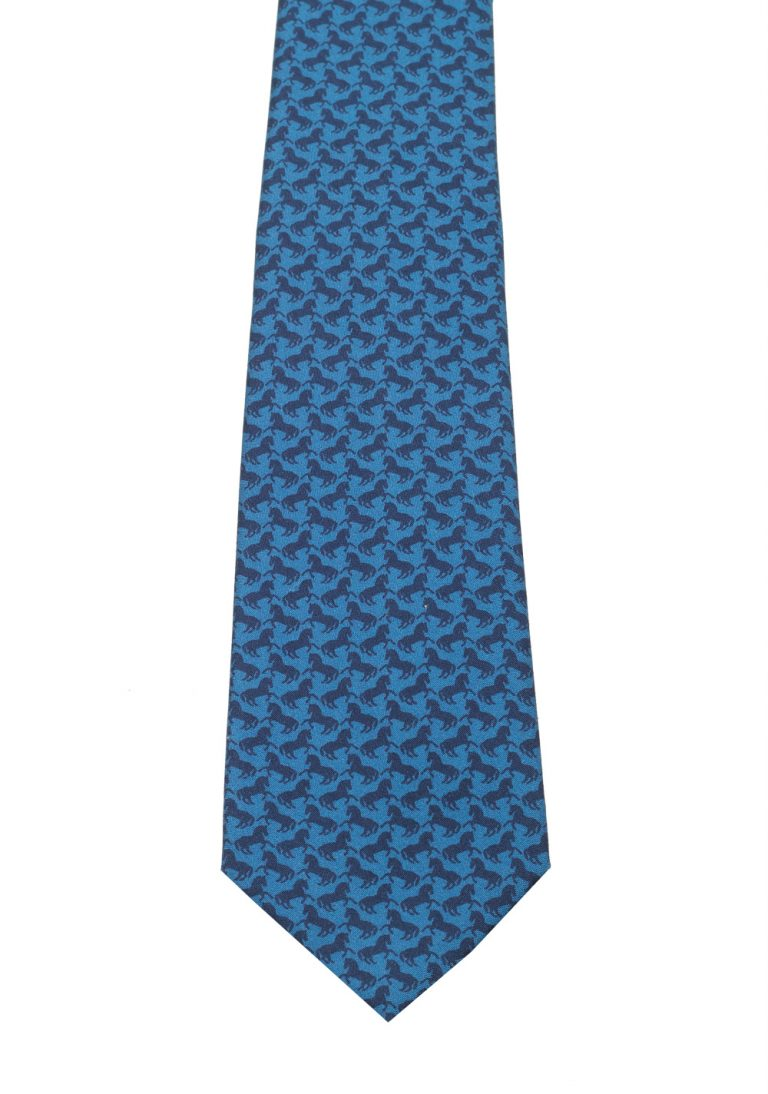 Gucci Blue Patterned Tie - thumbnail | Costume Limité