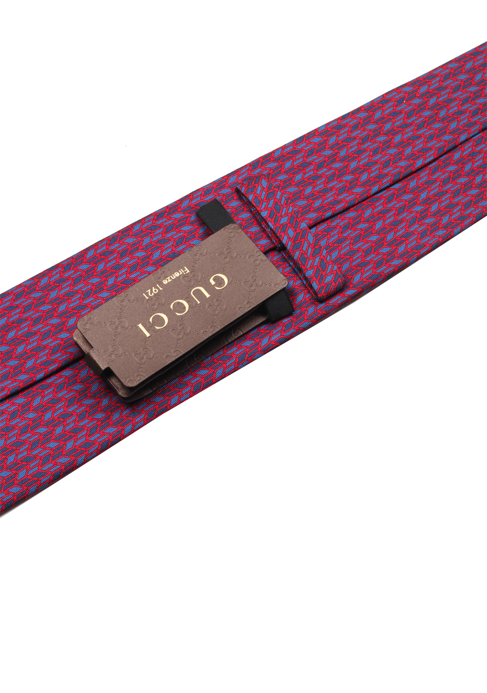 Gucci Red Patterned Tie | Costume Limité