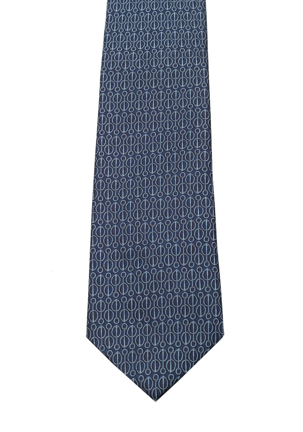 Gucci Blue Patterned Tie | Costume Limité