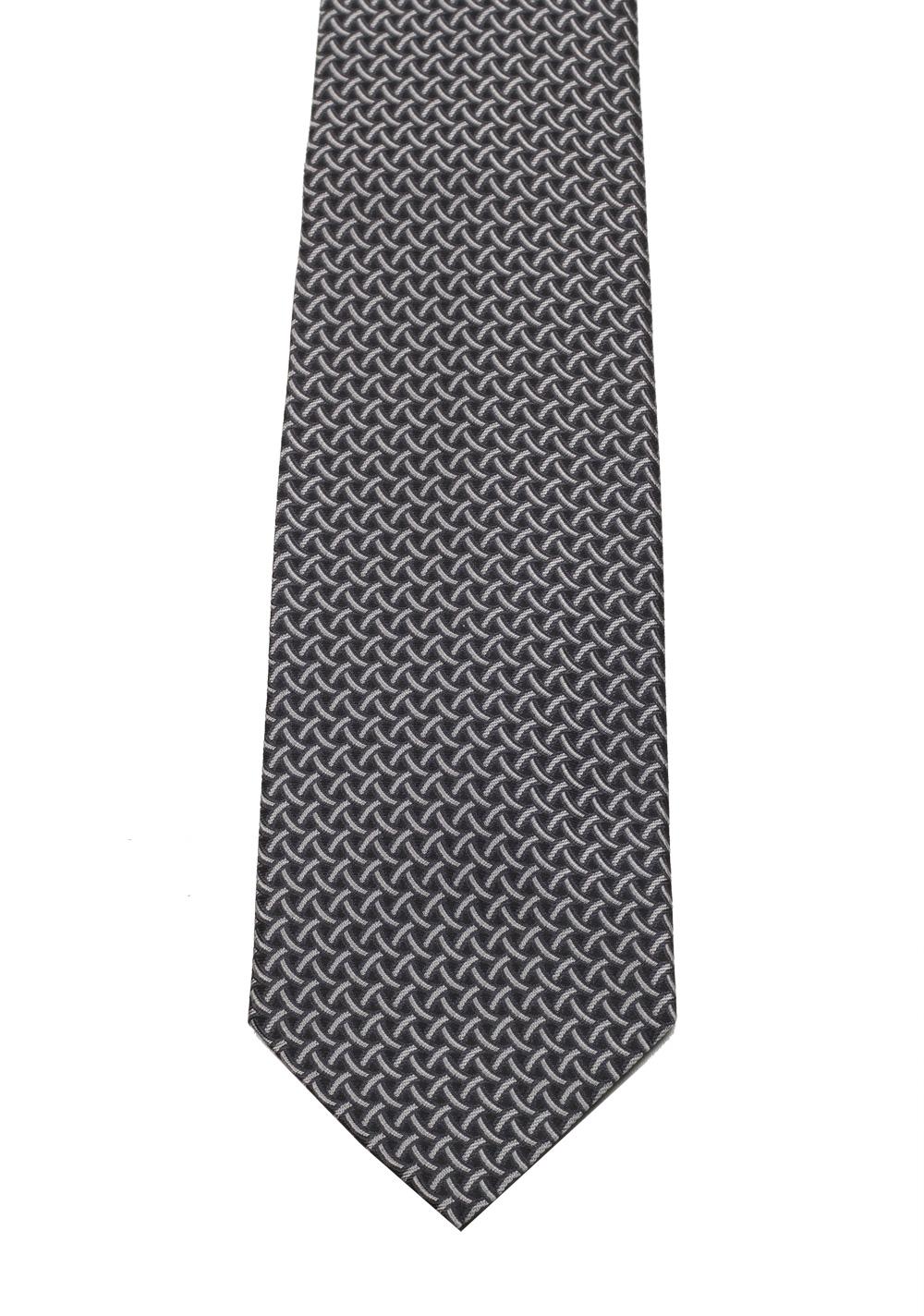 Gucci Gray Patterned Tie | Costume Limité