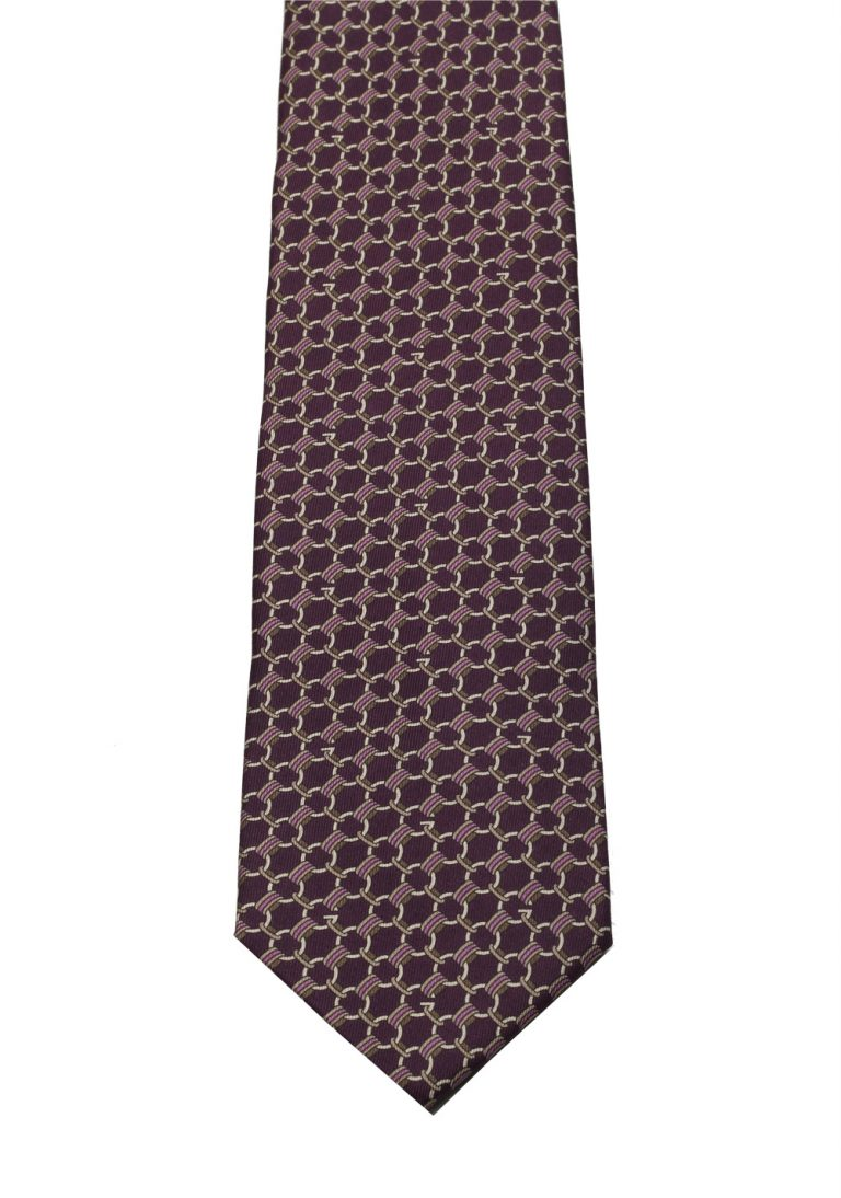 Gucci Purple Patterned Tie - thumbnail | Costume Limité