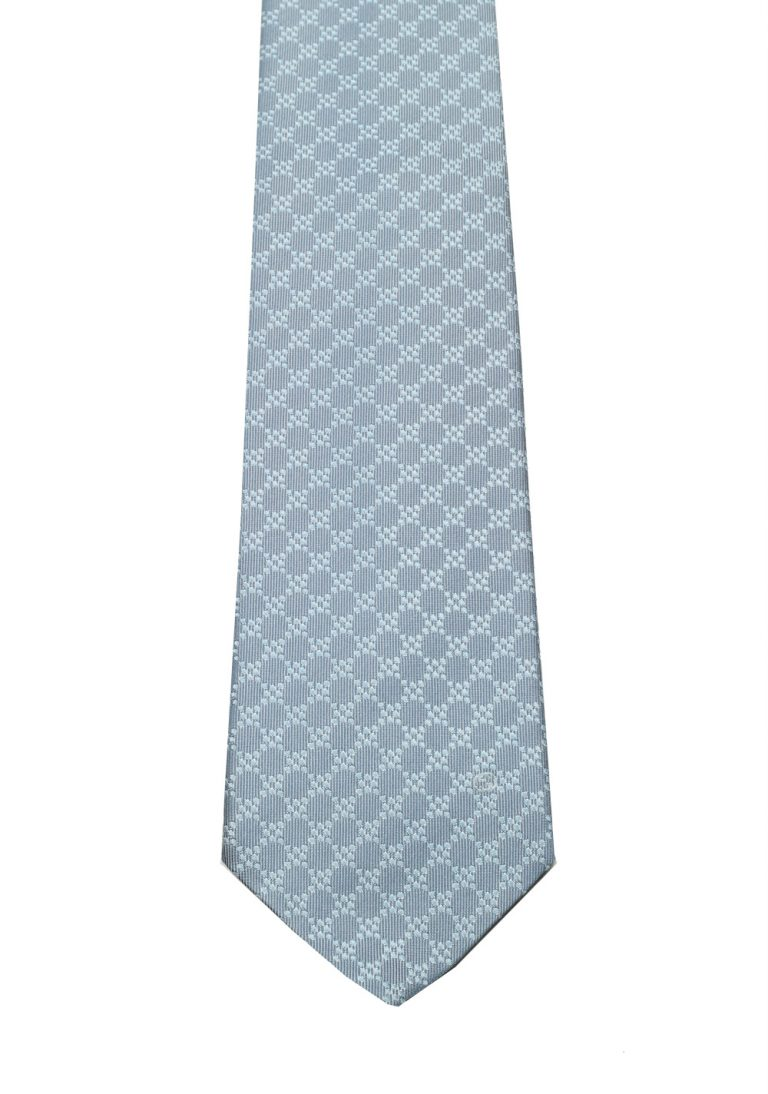 Gucci Gray Patterned Tie - thumbnail | Costume Limité