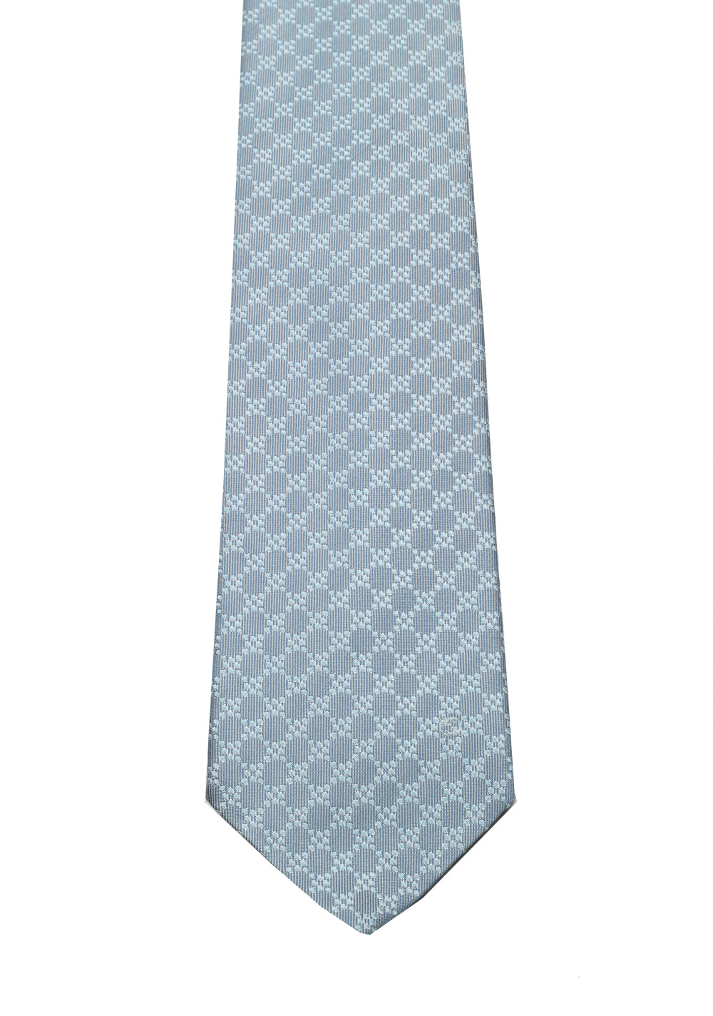 Gucci Gray Patterned Tie | Costume Limité