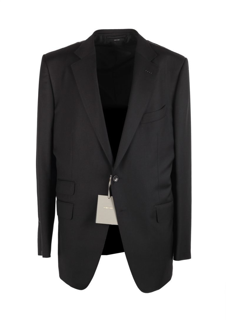 TOM FORD O'Connor Black Suit Size 56 / 46R U.S. Wool Fit Y - thumbnail   Costume Limité