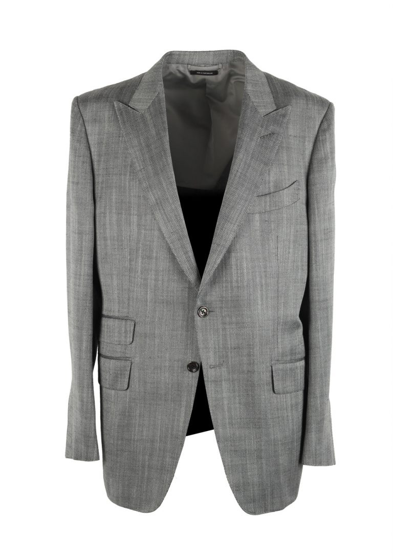 TOM FORD O'Connor Gray Sport Coat Size 56 / 46R U.S. Silk Mohair Fit Y - thumbnail | Costume Limité