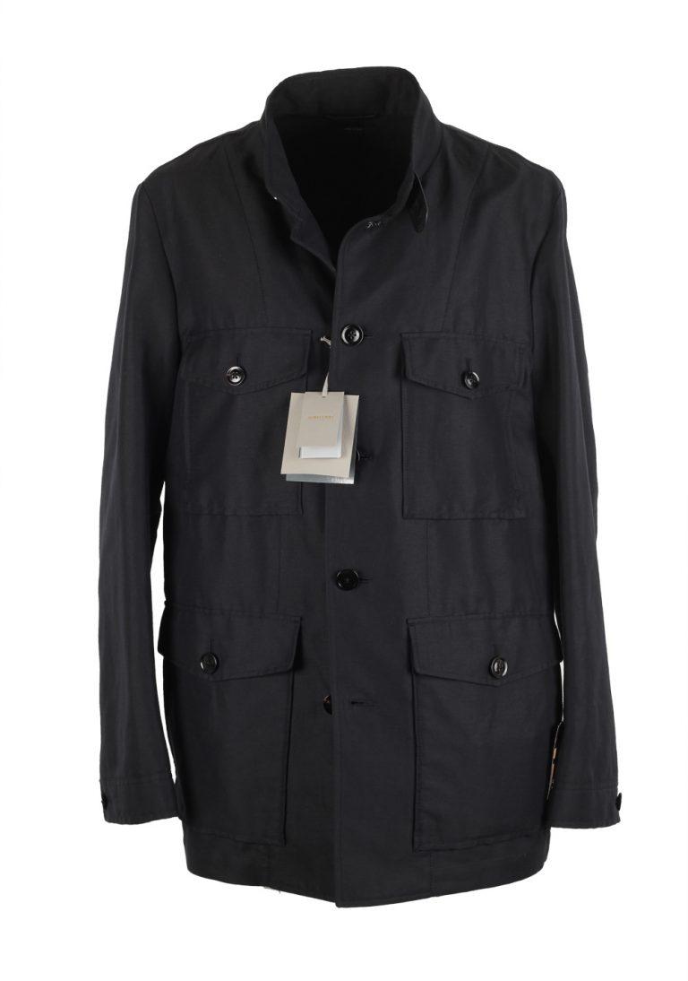 TOM FORD Black Military Safari Coat Size 58 / 48R U.S. Outerwear - thumbnail | Costume Limité