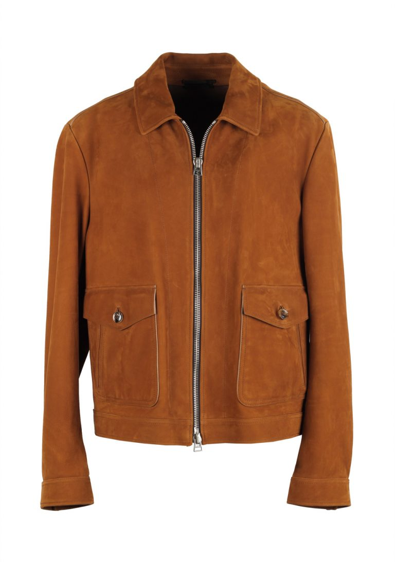 TOM FORD Leather Bomber Jacket Coat Size 56 / 46R U.S. Outerwear - thumbnail | Costume Limité