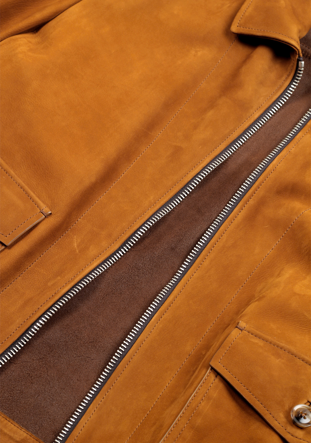 TOM FORD Leather Bomber Jacket Coat Size 58 / 48R U.S. Outerwear | Costume Limité