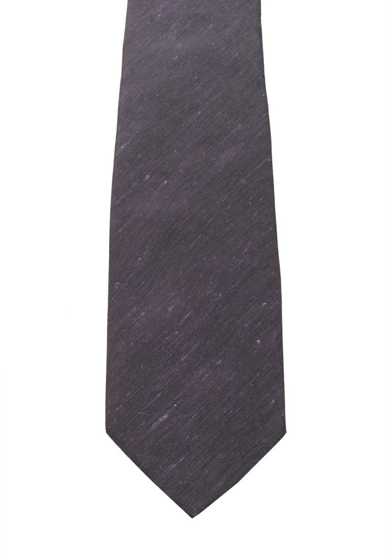 TOM FORD Solid Purple Tie In Silk - thumbnail | Costume Limité