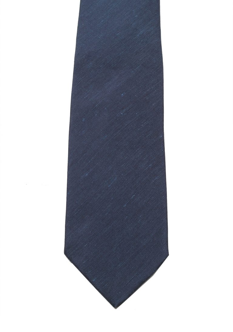 TOM FORD Solid Blue Tie In Silk - thumbnail | Costume Limité