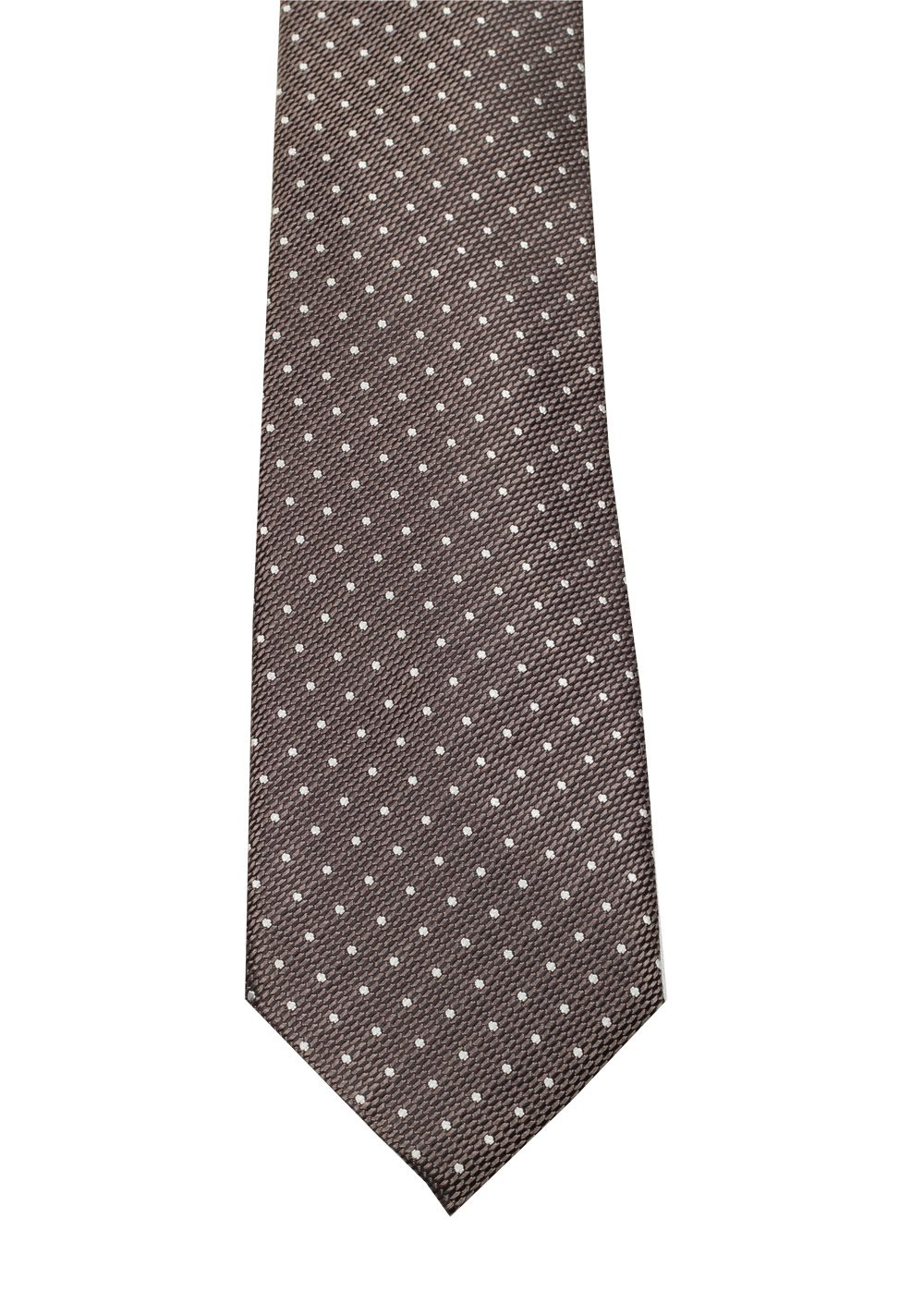 TOM FORD Patterned Brown Tie In Silk | Costume Limité