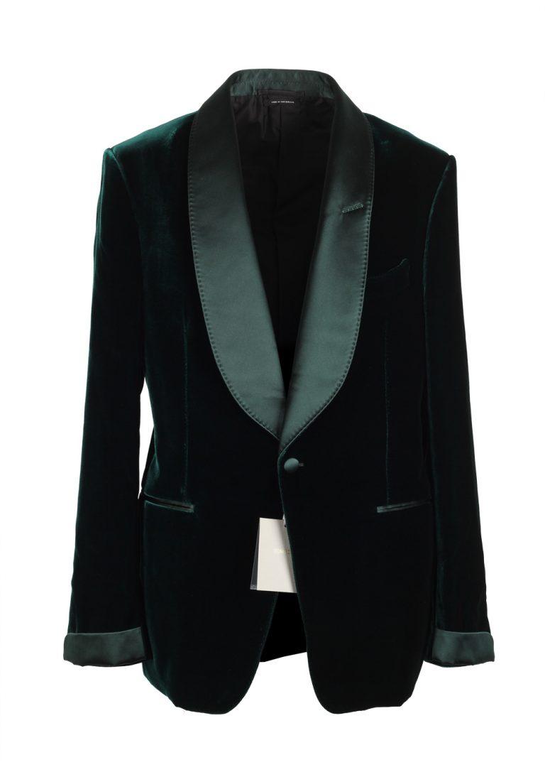 TOM FORD Shelton Green Sport Coat Tuxedo Dinner Jacket Size 52 / 42R U.S. - thumbnail | Costume Limité