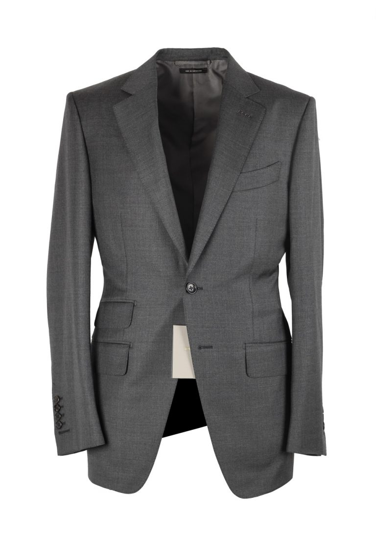 TOM FORD O'Connor Gray Suit Size 52 / 42R U.S. Wool Fit Y - thumbnail | Costume Limité