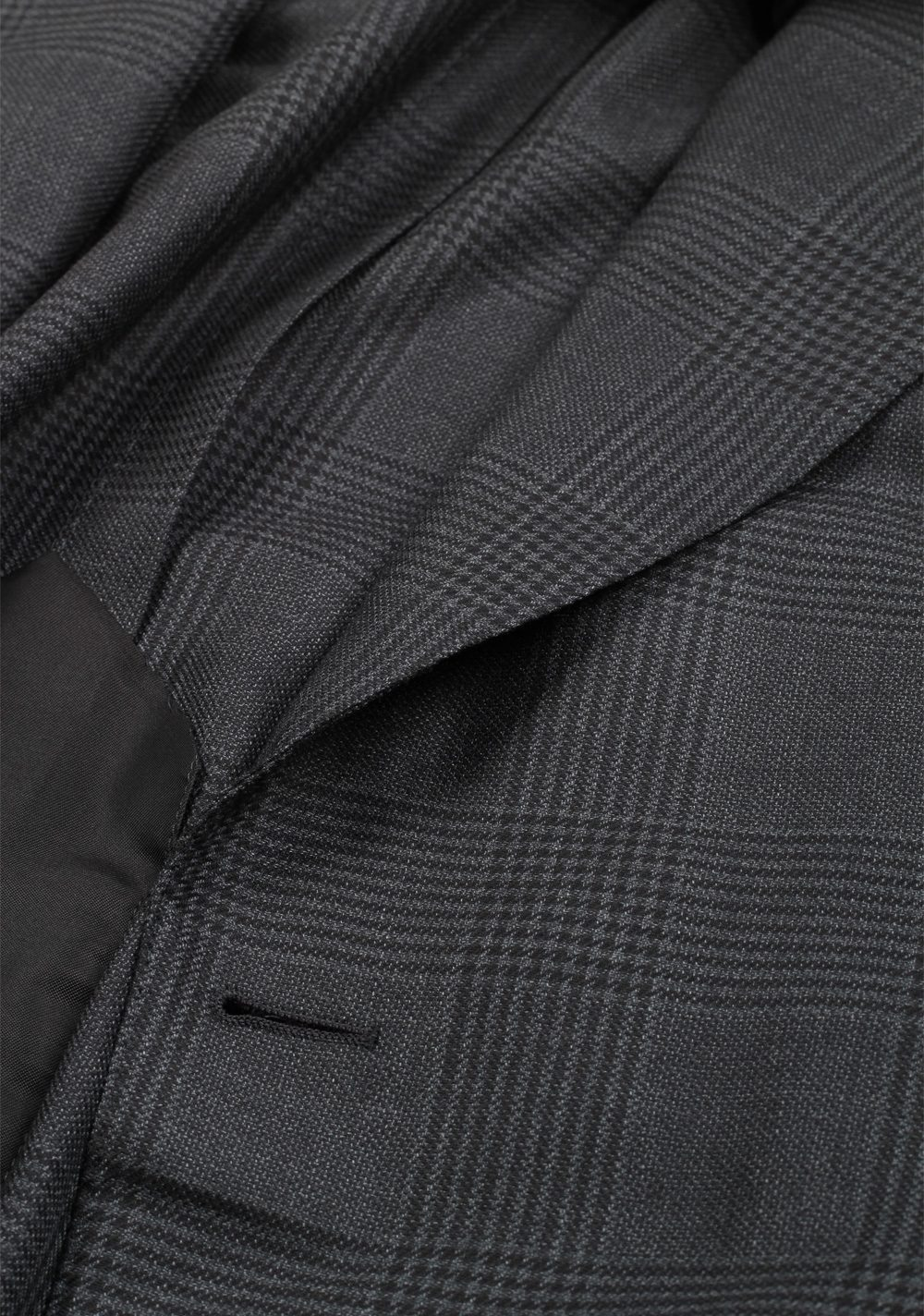TOM FORD Shelton Checked Blue Sport Coat Size 48 / 38R U.S. In Wool Silk   Costume Limité