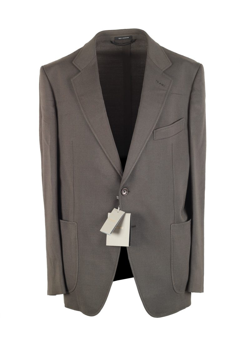 TOM FORD O'Connor Green Sport Coat Size 52 / 42R U.S. Fit Y - thumbnail | Costume Limité