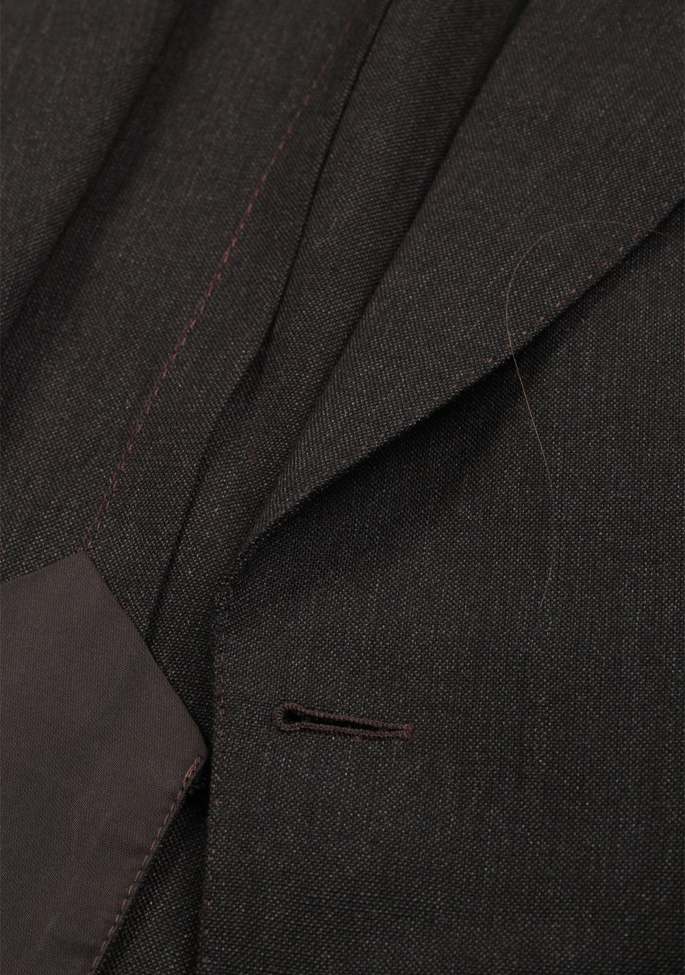 TOM FORD Shelton Brown Suit Size 48 / 38R U.S. In Mohair Wool Silk | Costume Limité