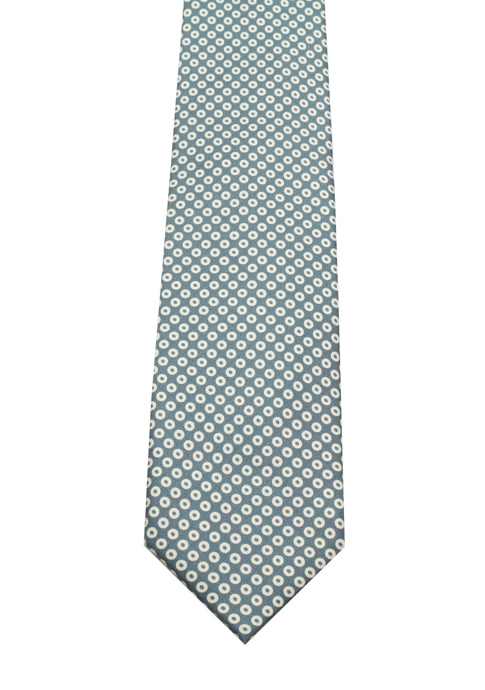 TOM FORD Patterned Blue Tie In Silk | Costume Limité