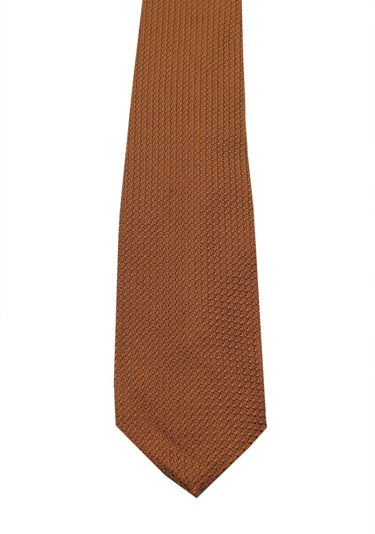 TOM FORD Patterned Brown Tie In Silk - thumbnail | Costume Limité