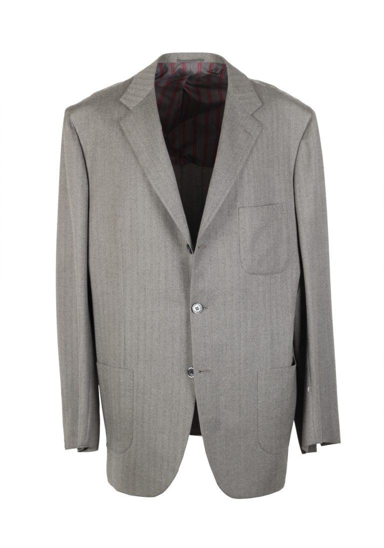Kiton Suit Size 56L / 46L Long U.S. 14 Micron - thumbnail | Costume Limité