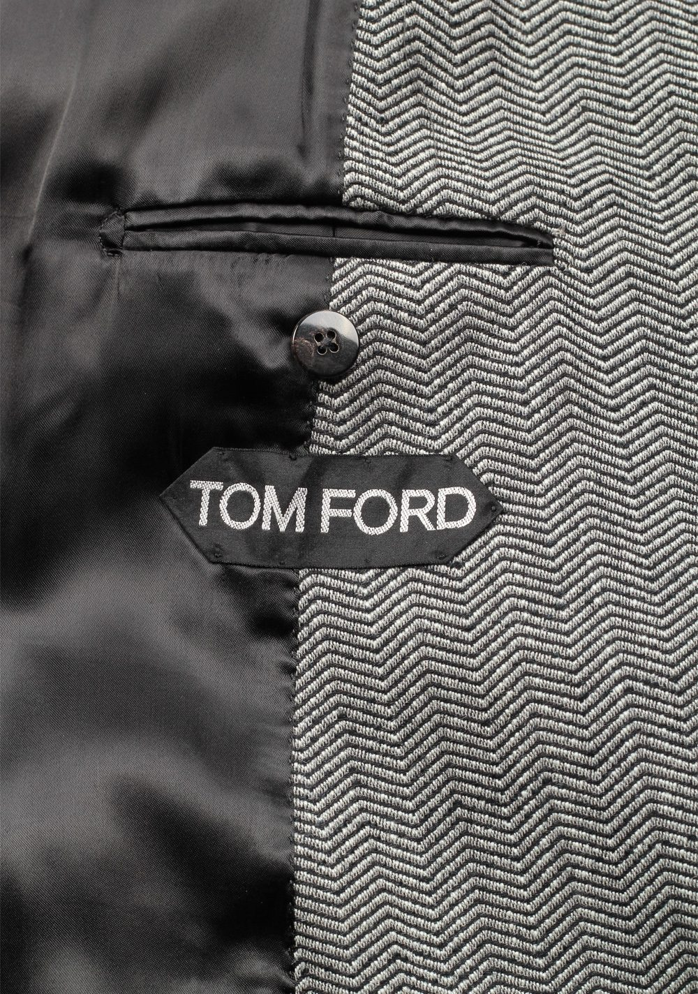 TOM FORD Gray Over Coat Size 48 / 38R U.S. Outerwear | Costume Limité