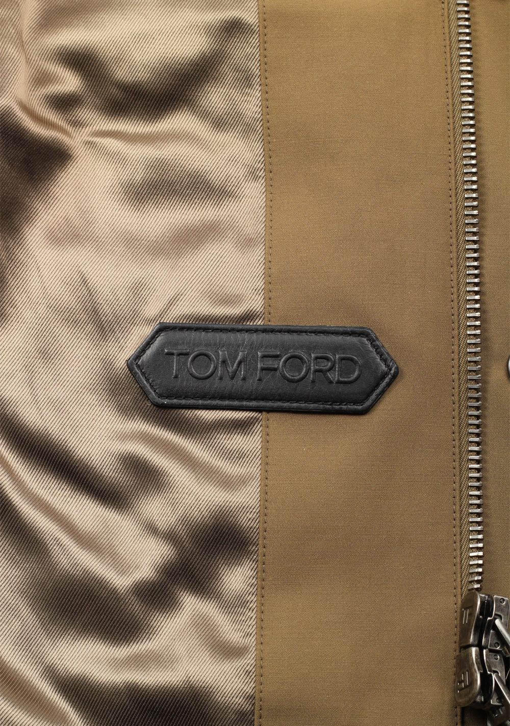 TOM FORD Beige Military Safari Jacket Size 48 / 38R U.S. | Costume Limité