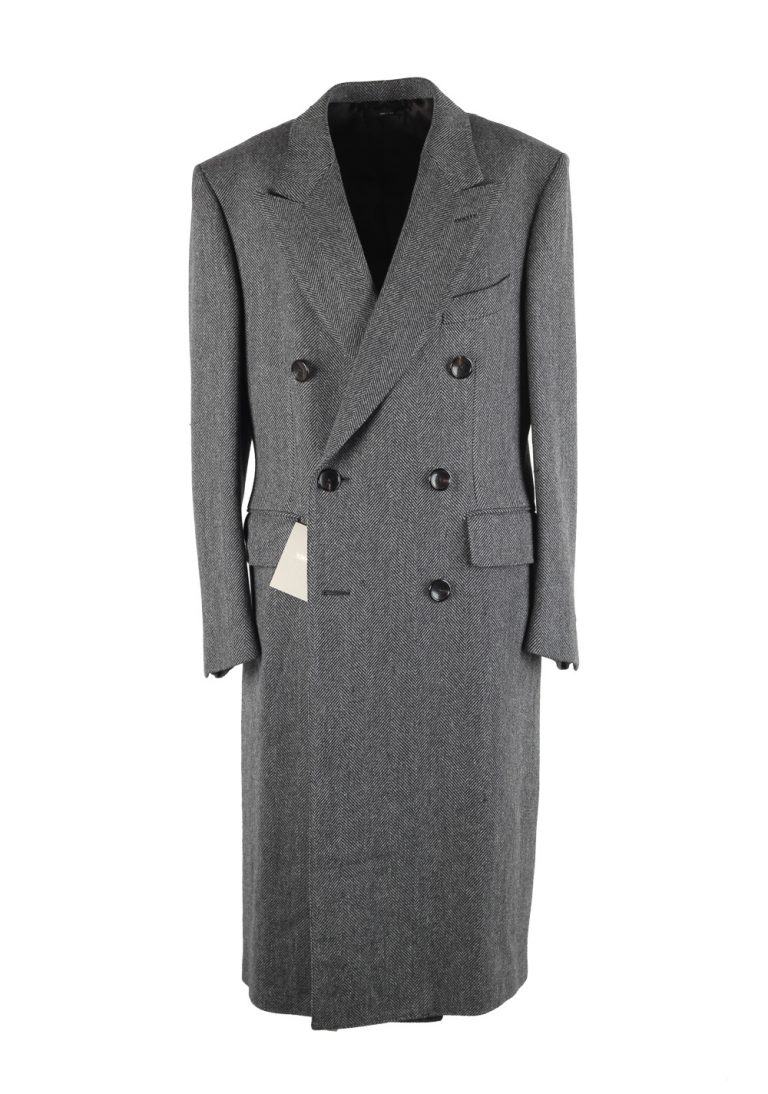 TOM FORD Gray Over Coat Size 50 / 40R U.S. Outerwear - thumbnail | Costume Limité