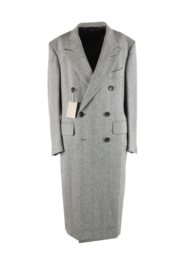 TOM FORD Gray Over Coat Size 48 / 38R U.S. Outerwear - thumbnail | Costume Limité