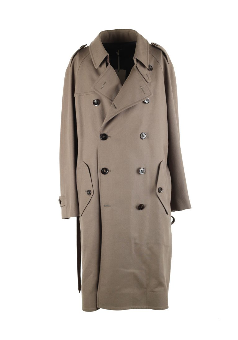 TOM FORD Taupe Rain Coat Size 48 / 38R U.S. Outerwear - thumbnail | Costume Limité