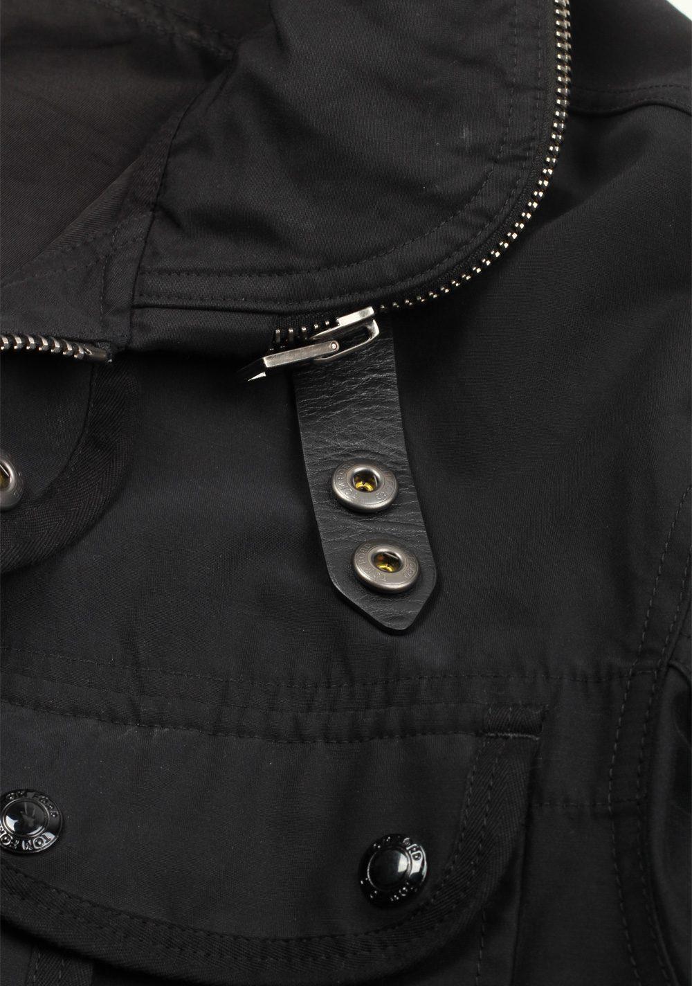 TOM FORD Black Zipper Jacket Coat Size 48 / 38 U.S. Outerwear   Costume Limité