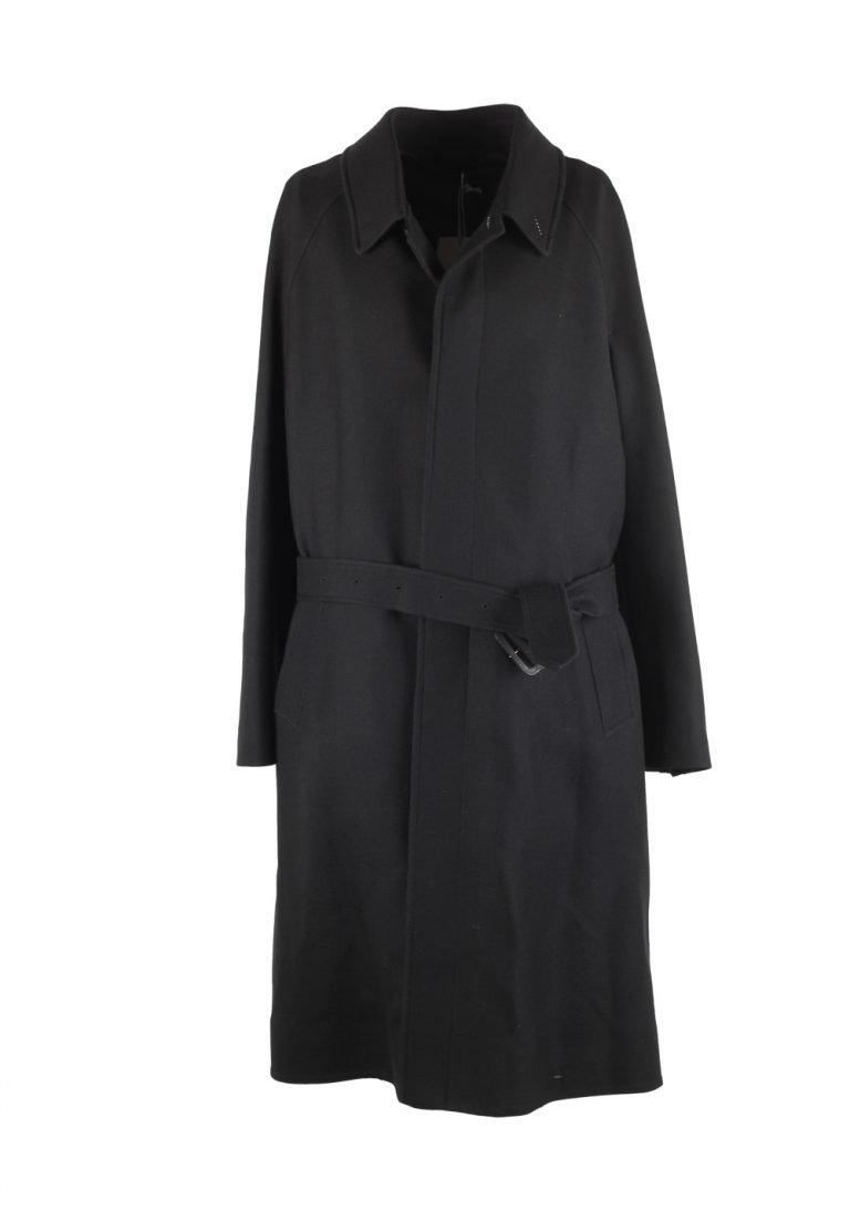 TOM FORD Black Over Coat Size 48 / 38R U.S. Outerwear - thumbnail | Costume Limité