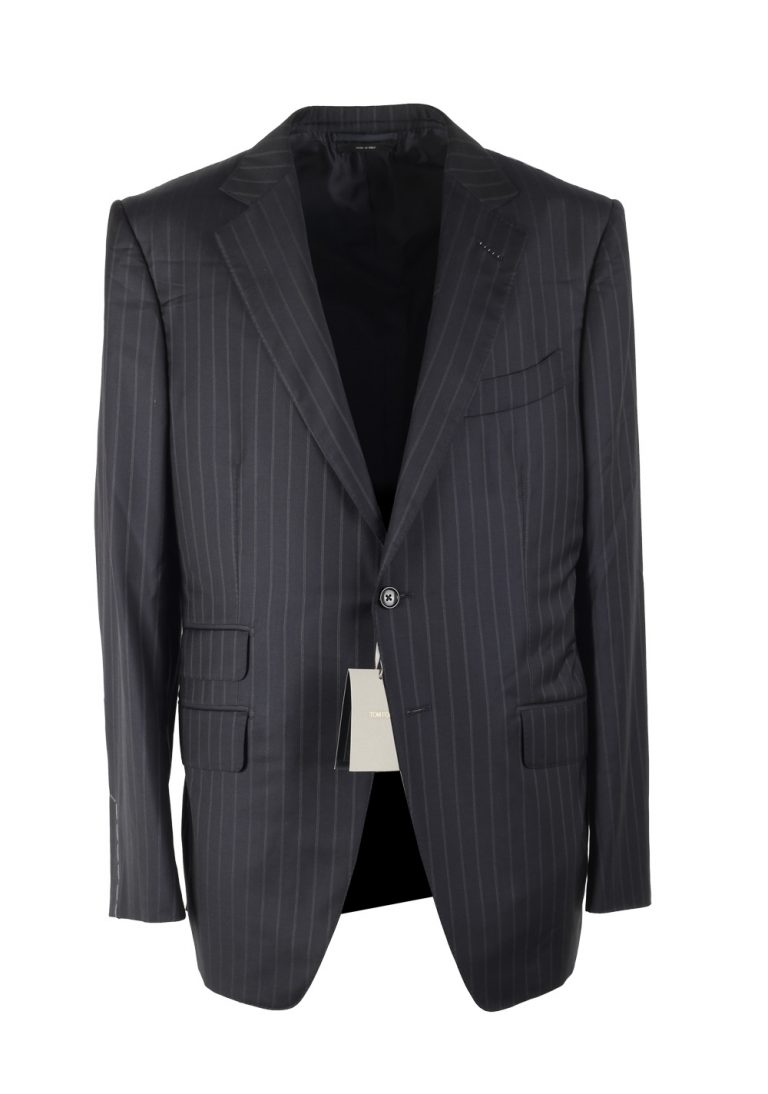 TOM FORD O'Connor Blue Suit Size 52 / 42R U.S. Wool Silk Fit Y - thumbnail | Costume Limité