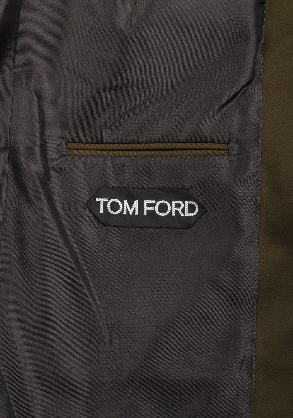 TOM FORD Windsor Green Suit Size 54 / 44R U.S. Cotton Fit A | Costume Limité