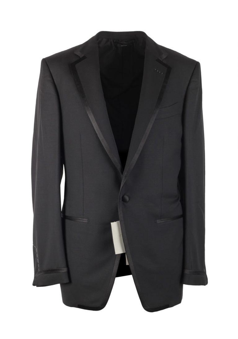 TOM FORD O'Connor Black Sport Coat Tuxedo Dinner Jacket Size 48 / 38R U.S. Fit Y - thumbnail | Costume Limité