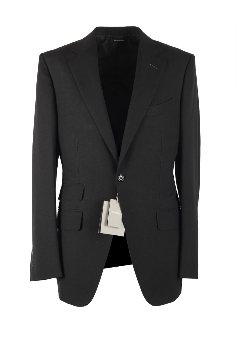 TOM FORD O'Connor Black Sport Coat Size 48 / 38R U.S. Fit Y - thumbnail | Costume Limité