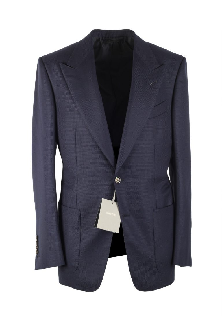 TOM FORD Windsor Blue Sport Coat Size 48 / 38R U.S. Wool Fit A - thumbnail | Costume Limité