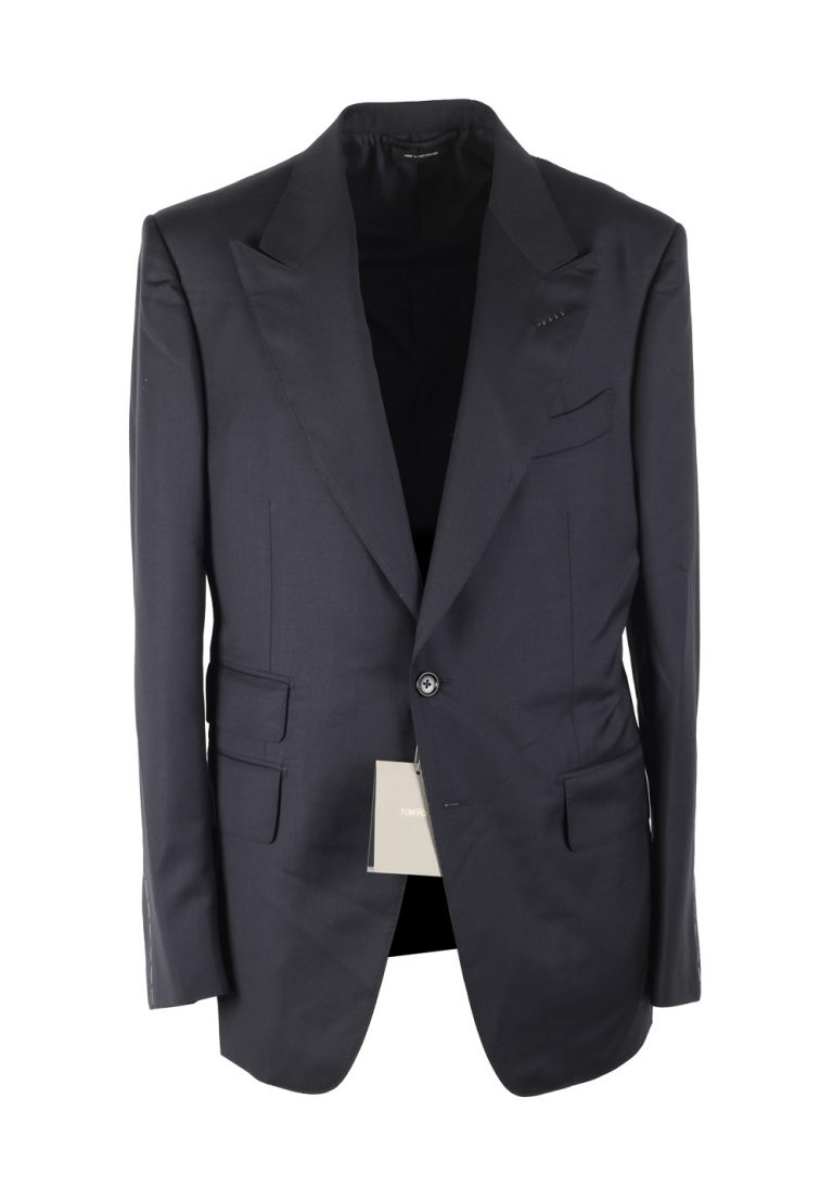 TOM FORD Shelton Blue Sport Coat Size 50 / 40R U.S. Wool - thumbnail | Costume Limité