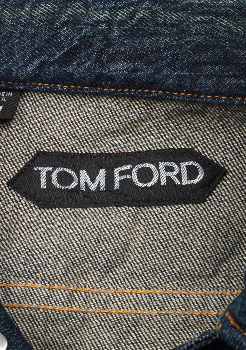 TOM FORD Icon Japanese Denim Jacket Size XL / 42R U.S. Outerwear | Costume Limité