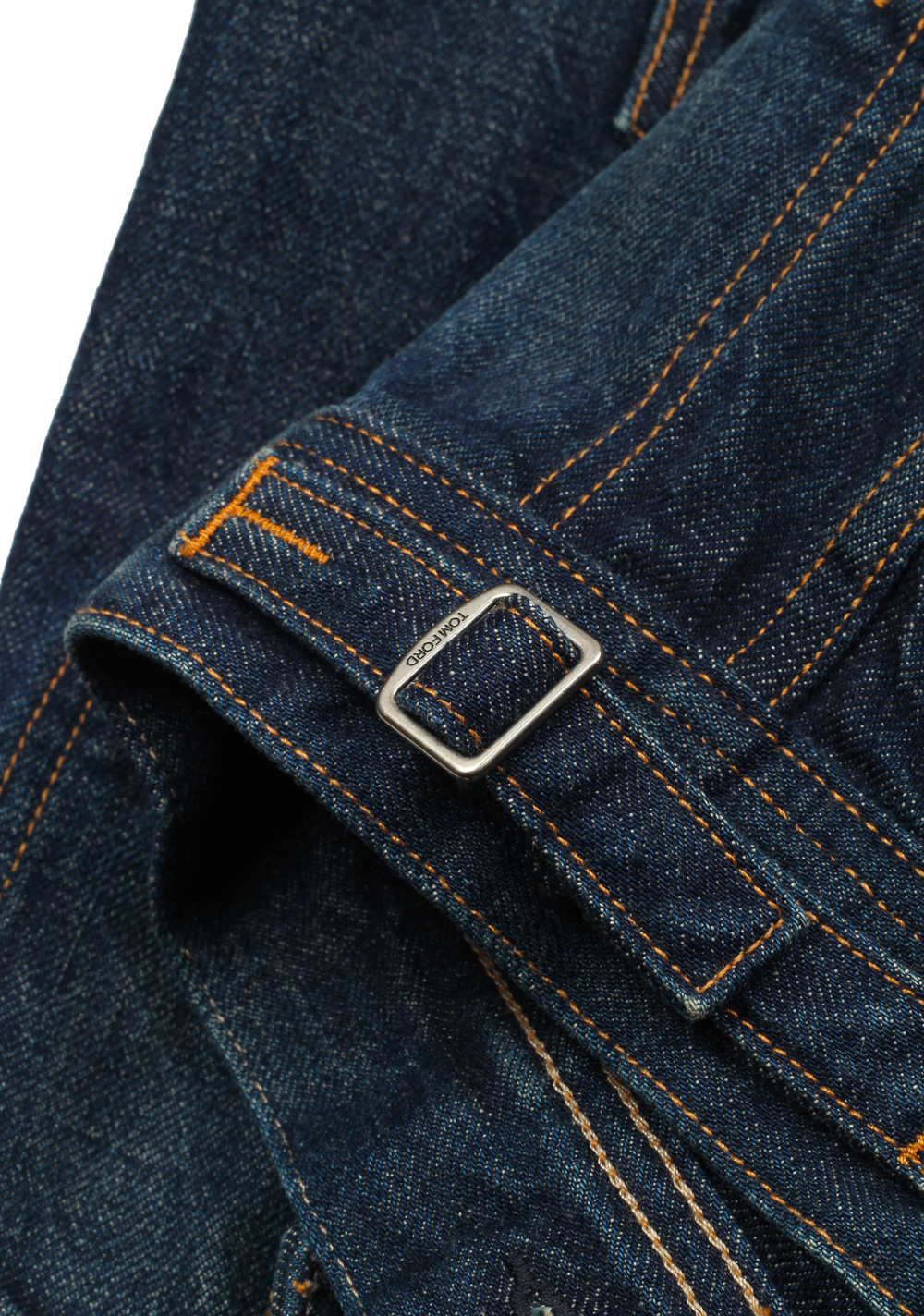 TOM FORD Icon Japanese Denim Jacket Size M / 38R U.S. Outerwear | Costume Limité