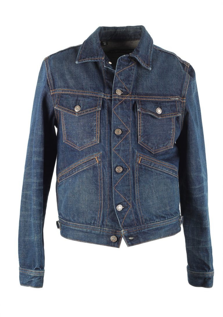 TOM FORD Icon Japanese Denim Jacket Size L / 40R U.S. Outerwear - thumbnail | Costume Limité