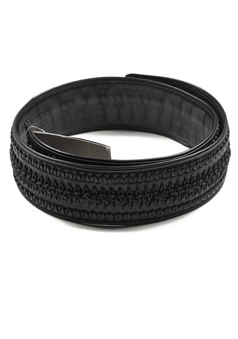 TOM FORD Black Casual Leather Belt Size 105 / 38 U.S. - thumbnail | Costume Limité