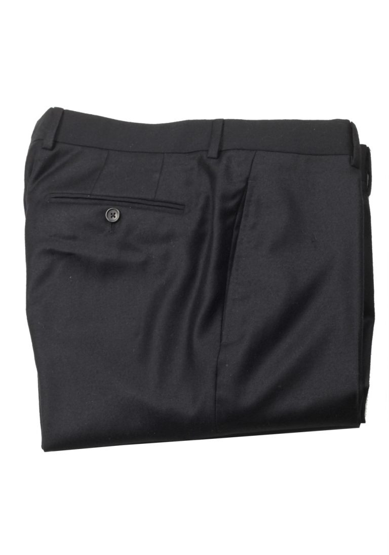 TOM FORD Black Wool Cashmere Dress Trousers Size 50 / 34 U.S. - thumbnail | Costume Limité