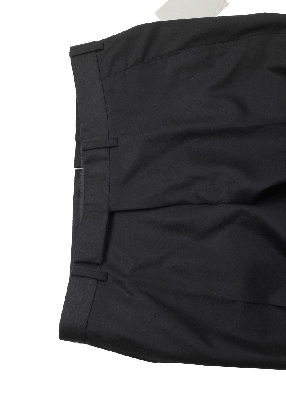 TOM FORD Black Wool Cashmere Dress Trousers Size 52 / 36 U.S. | Costume Limité