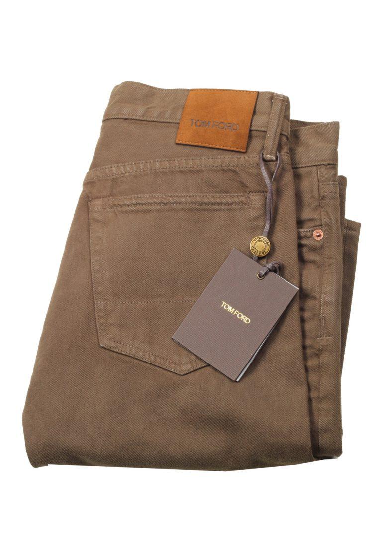 TOM FORD Brown Slim Fit Jeans TFD001 Size 48 / 32 U.S. - thumbnail | Costume Limité