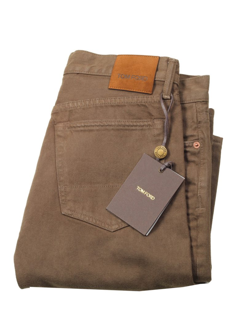 TOM FORD Brown Slim Fit Jeans TFD001 Size 54 / 38 U.S. - thumbnail | Costume Limité