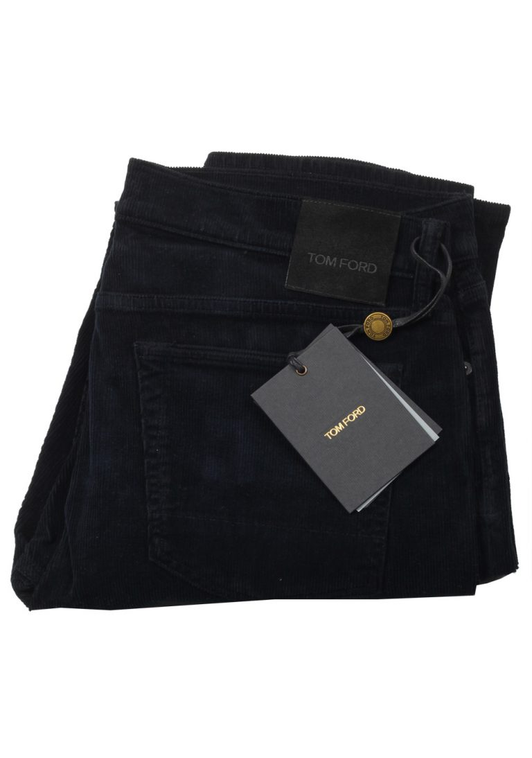 TOM FORD Black Straight Jeans TFD002 Size 52 / 36 U.S. - thumbnail | Costume Limité