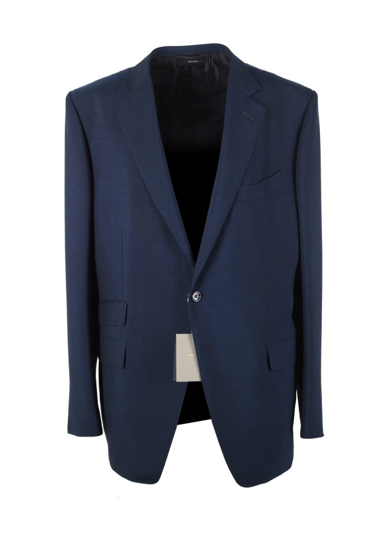 TOM FORD O'Connor Blue Suit Size 56 / 46R U.S. Mohair Fit Y - thumbnail | Costume Limité