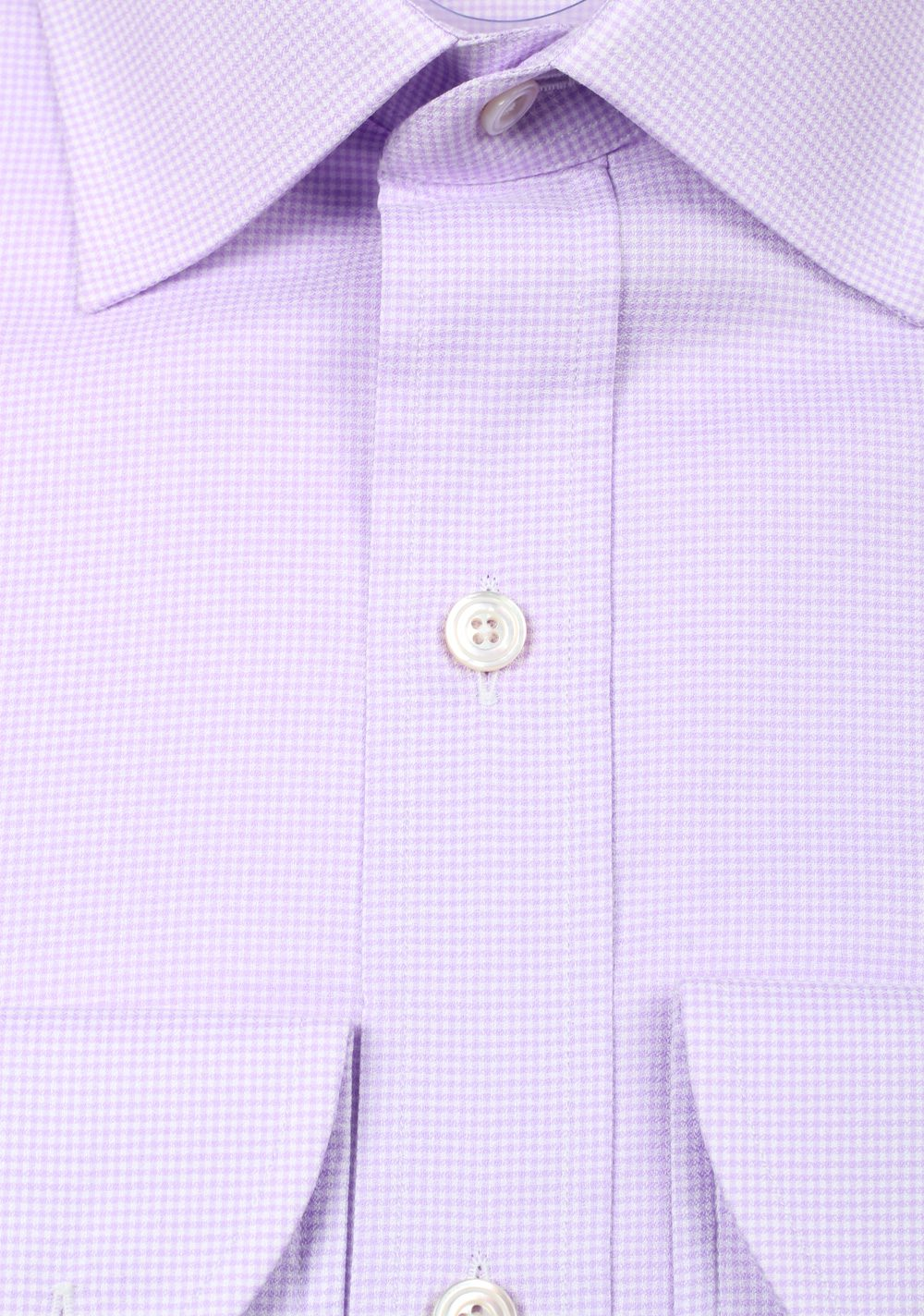 TOM FORD Patterned Lilac Dress Shirt Size 44 / 17,5 U.S. | Costume Limité